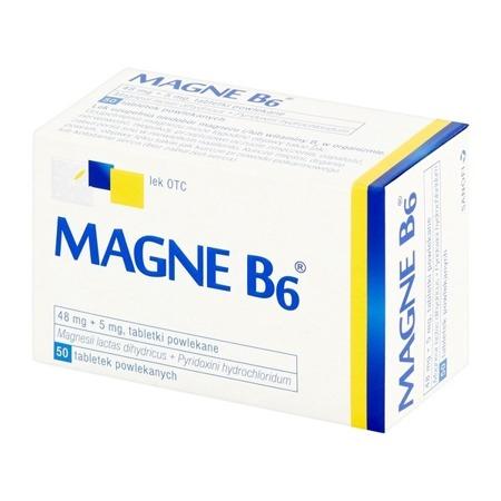 MAGNE B6 50 TABLETEK POWLEKANYCH