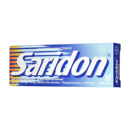 SARIDON 10 TABLETEK